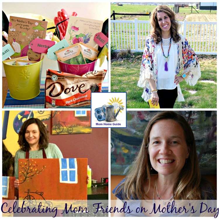 Mother's Day is a great day to celebrate your friendship with other moms!