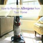 Cleaning Away Allergens