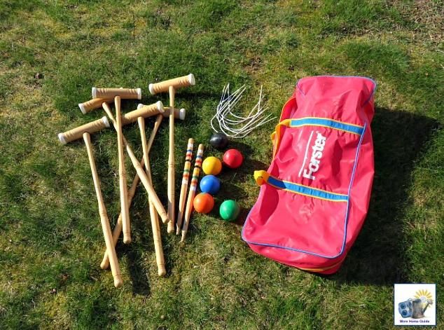 Forster croquet set