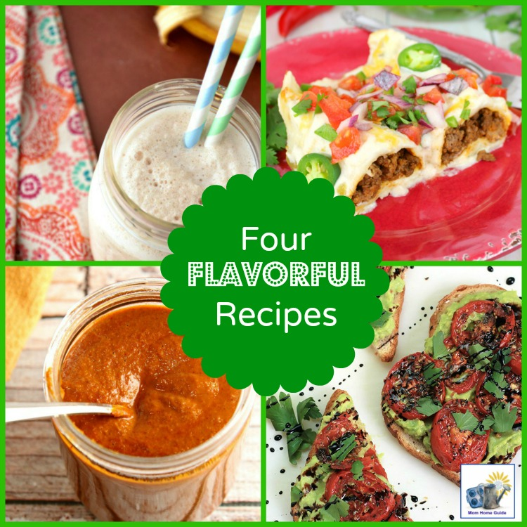 four flavorful and easy recipes
