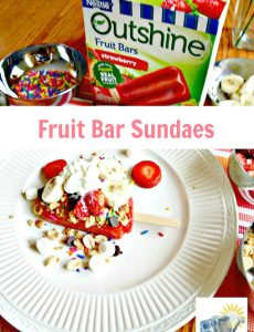 Fruit bar sundaes are a refreshing alternative to ice cream sundaes