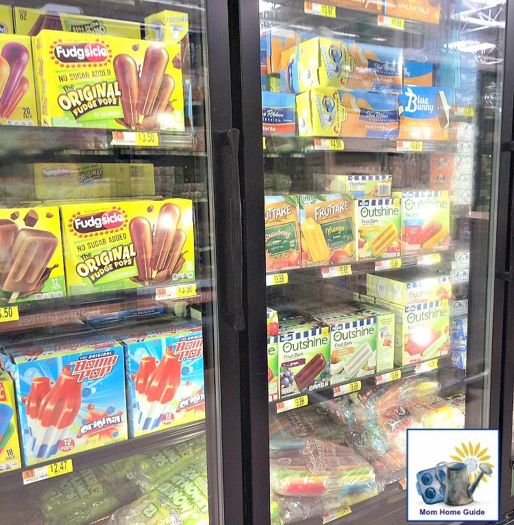 Outshine Fruit Bars at Walmart