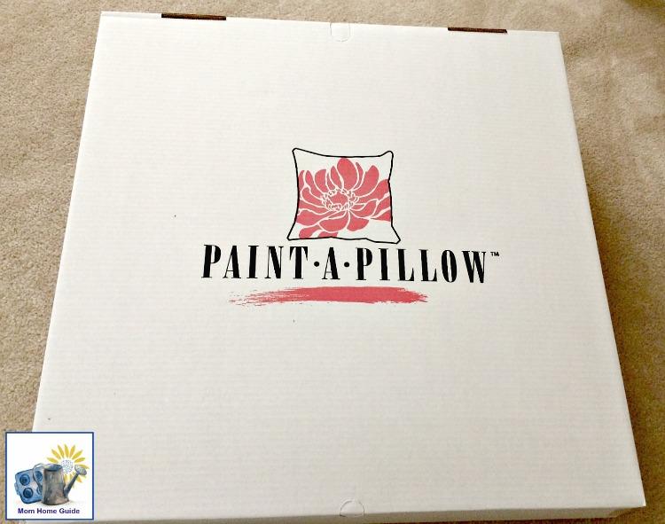 Paint-a-Pillow stencil a pillow kit