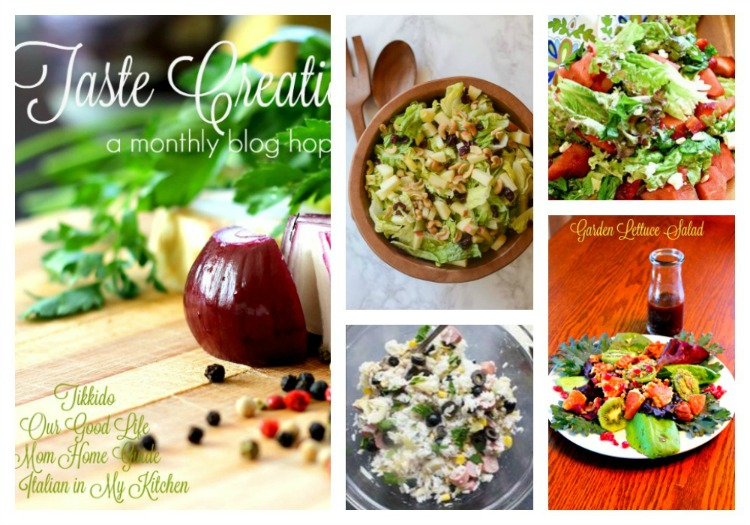 June Taste Creations salad recipes