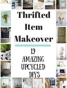 Thrifted Item Makeover Blog Hop