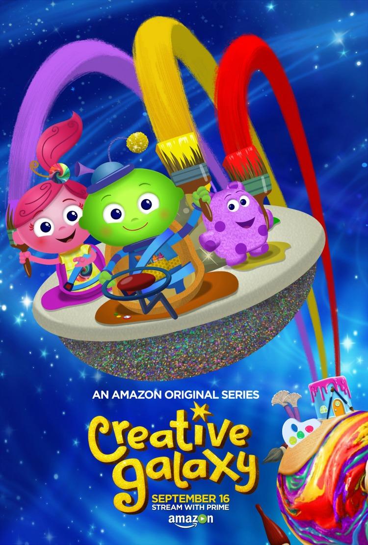 Season 2 of Amazon's original series, Creative Galaxy, airs on Friday September 16