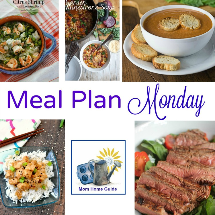 Meal Plan Monday -- 5 recipes for weeknight dinners from recipe bloggers