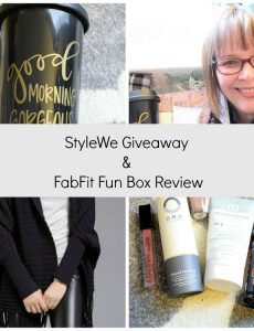 FabFitFun review and Style We giveaway