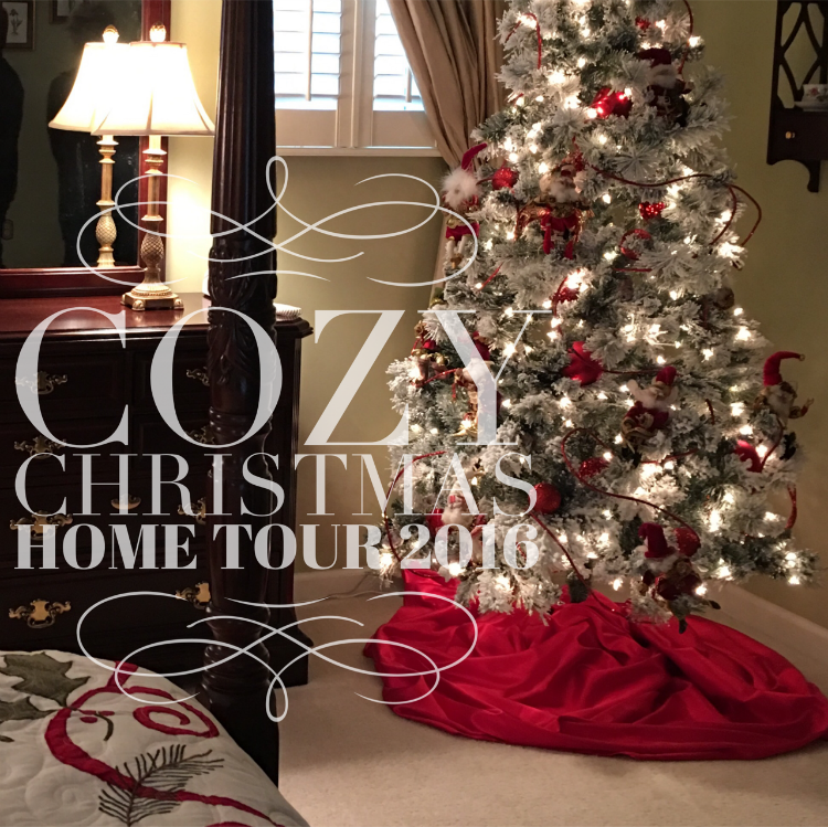 Cozy Christmas Home Tour 2016 - blog hop