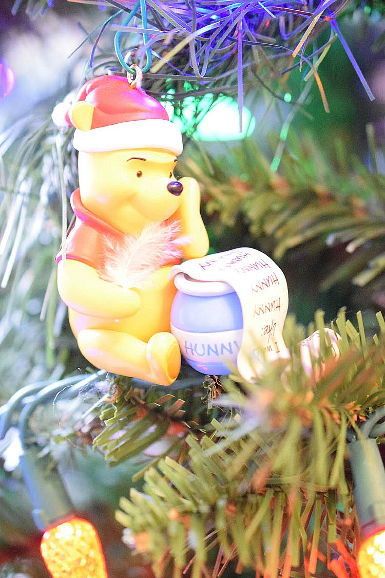 Winnie the Pooh Christmas tree ornament
