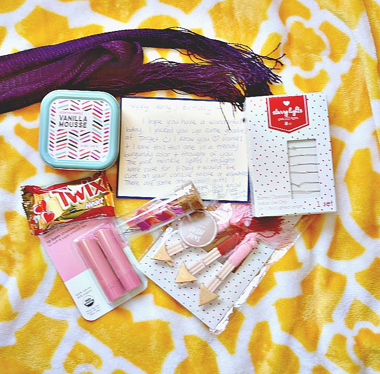 Birthday gifts from Carrie of Curly Crafty Mom