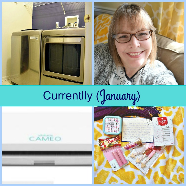 January Currently post for Mom Home Guide