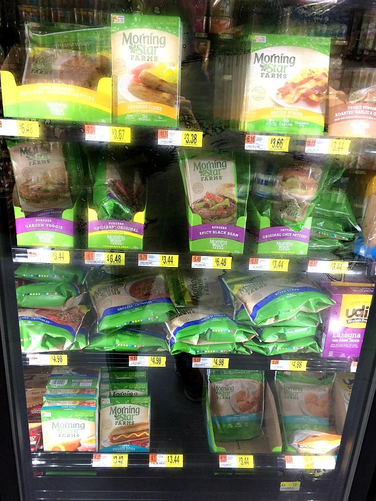 Morningstar vegetarian products at Walmart