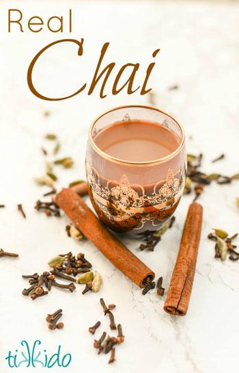 real chai recipe