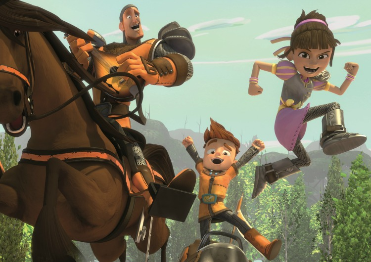 My Knight and Me -- an adorable animated series for kids