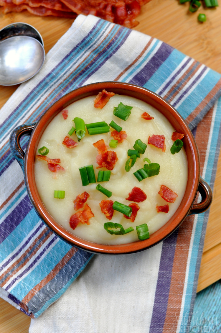 crockpot baked potato soup