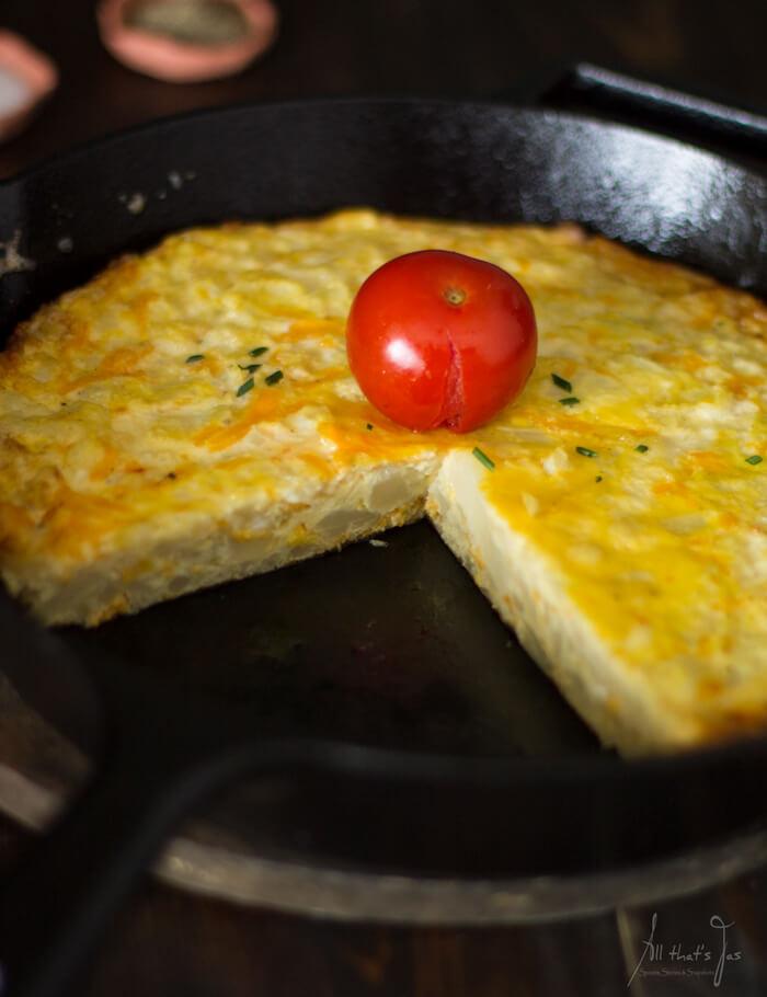 easy cauliflower fritta soup