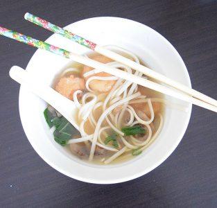 Japanese shrimp udon soup recipe