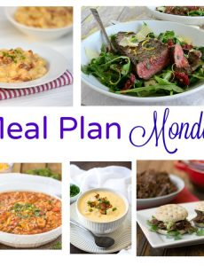 Meal Plan Monday -- five recipes for delicious weeknight meals