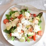 Chicken, Avocado & Strawberry Salad