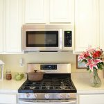 White Painted Oak Kitchen Cabinets Reveal