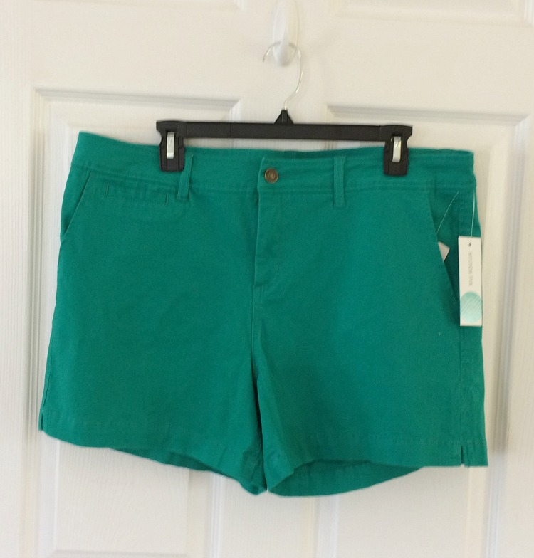 vibrant green shorts by Market & Spruce