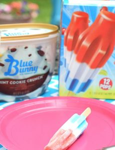 The Original Bomb Pops and Blue Bunny Ice Cream