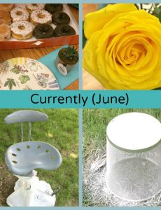 What I have been up to this month (June) -- two birthdays and a room refresh project for a teenager
