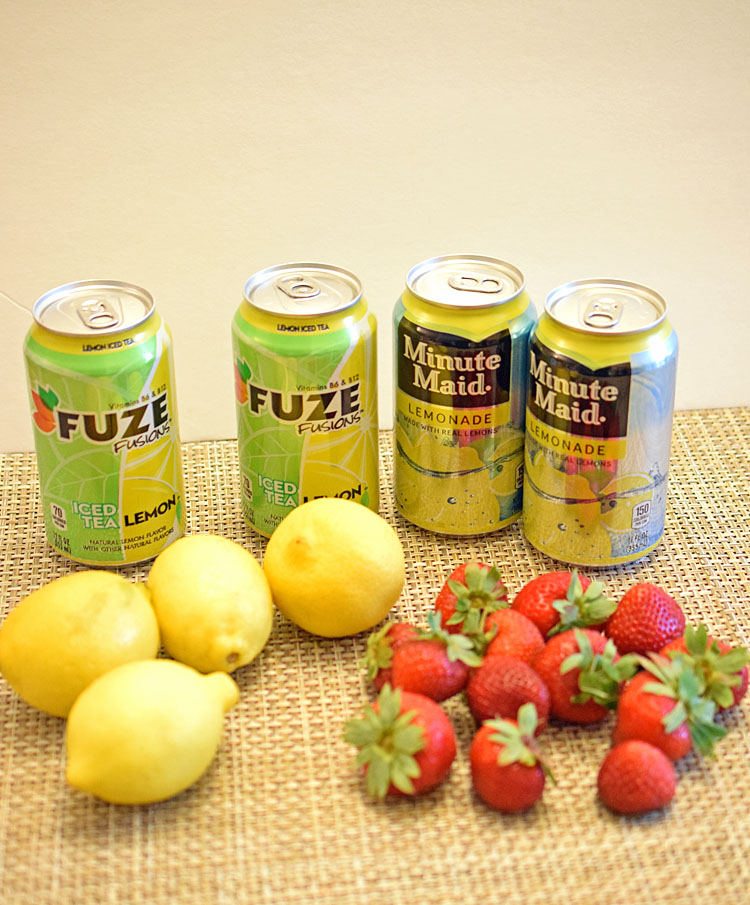 strawberry lemonade iced tea recipe ingredients