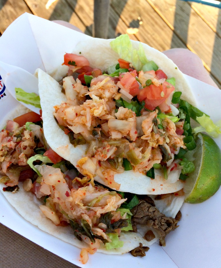 Korean tacos from Asbury Park, NJ