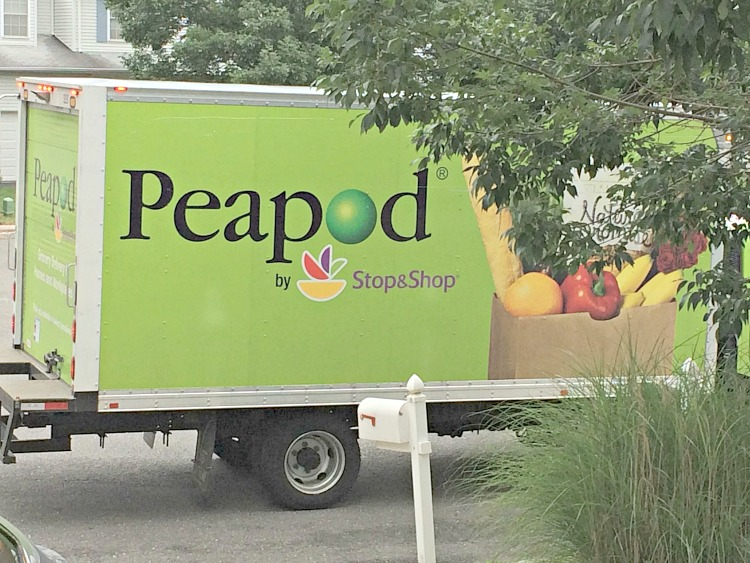 Peapod, a convenient and affordable home delivery service for groceries. I might use Peapod from now on