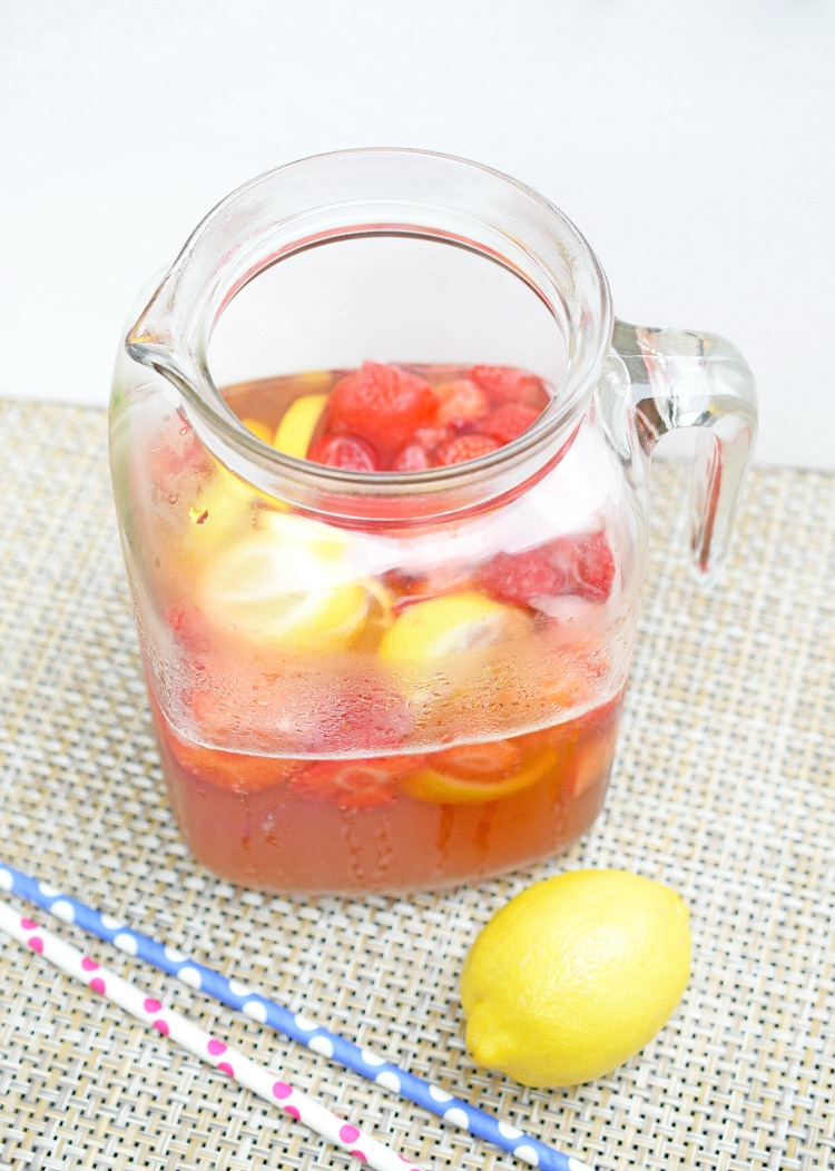 strawberry lemonade iced tea recipe