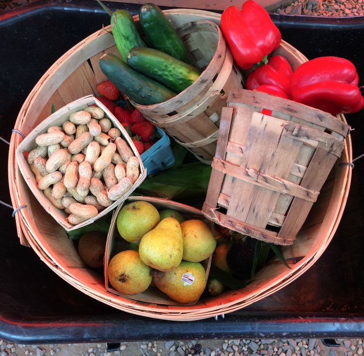 fresh fruit and vegetables from The Corn Stop in Marlton, NJ