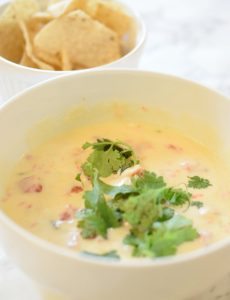 This super easy white queso recipe can be made in minutes