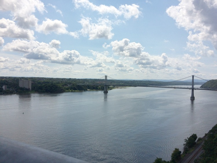 View from Walkway Over the Hudson in the Hudson River Valley