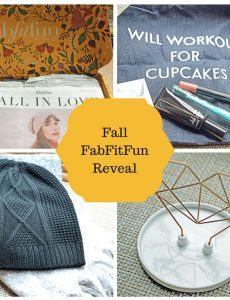 fall fab fit fun unboxing reveal