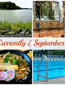 """Currently - September: What I am up to """"currently"""" this month"""