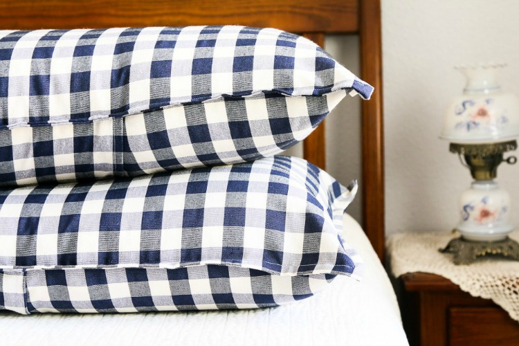 how to make a pillow sham