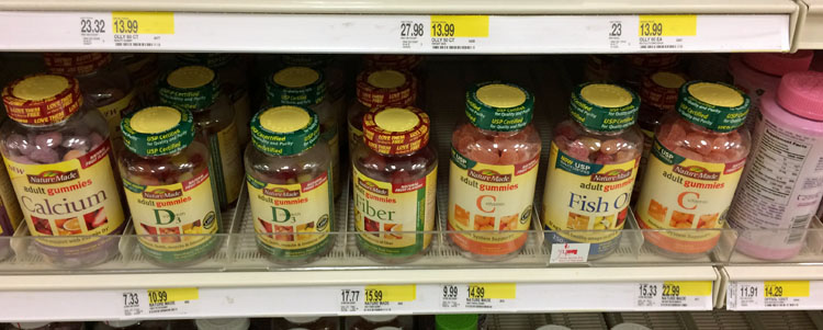 Nature Made Adult Gummies at Target