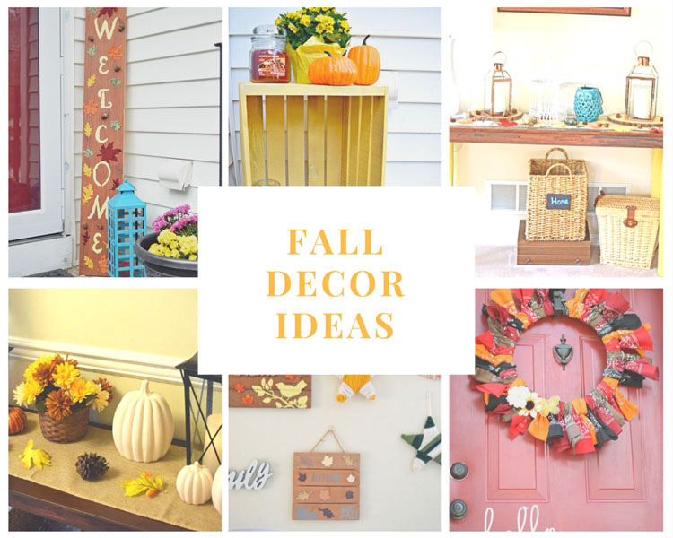 fall home and decor decorating ideas