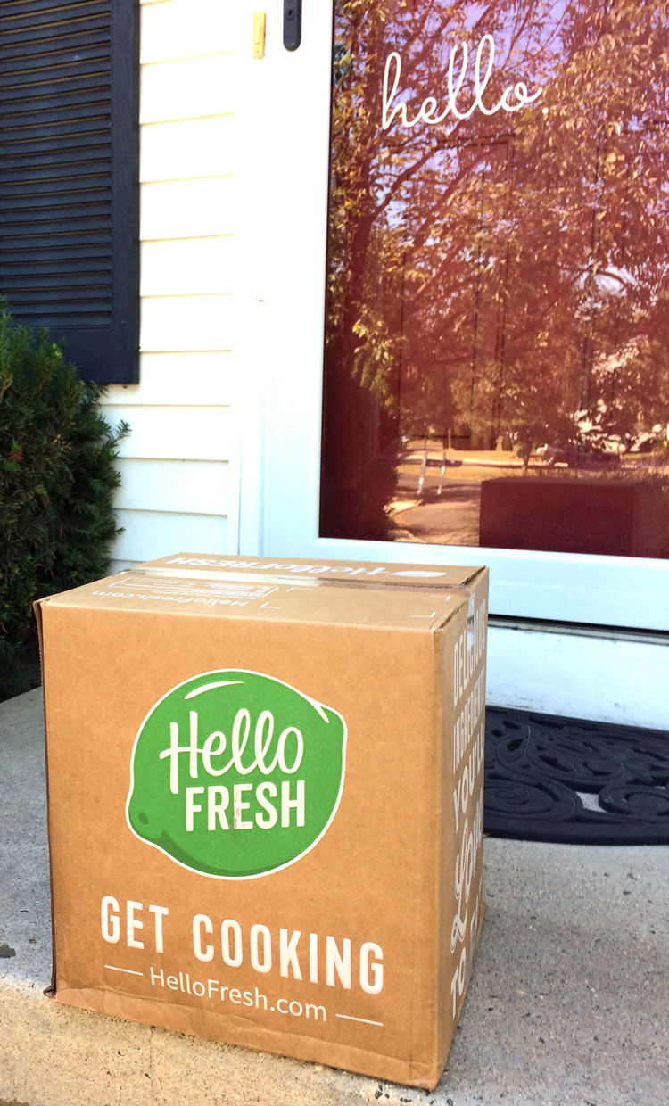 Hello Fresh delivers the ingredients for fresh, homemade ingredients to your door