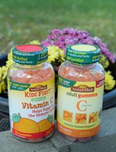 Nature Made vitamin C gummies