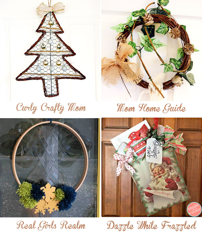 4 DIY wreaths for November