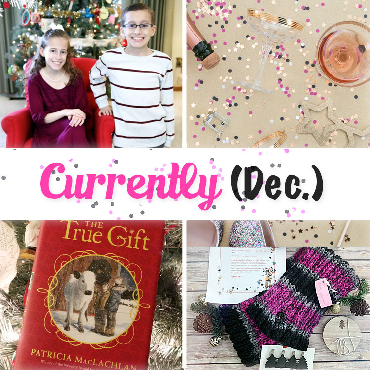 December Currently from Curly Crafty Mom