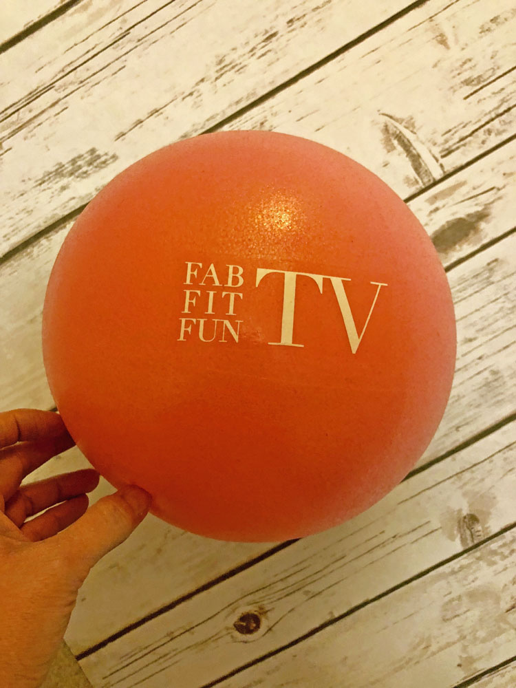 FabFitFun exercise ball