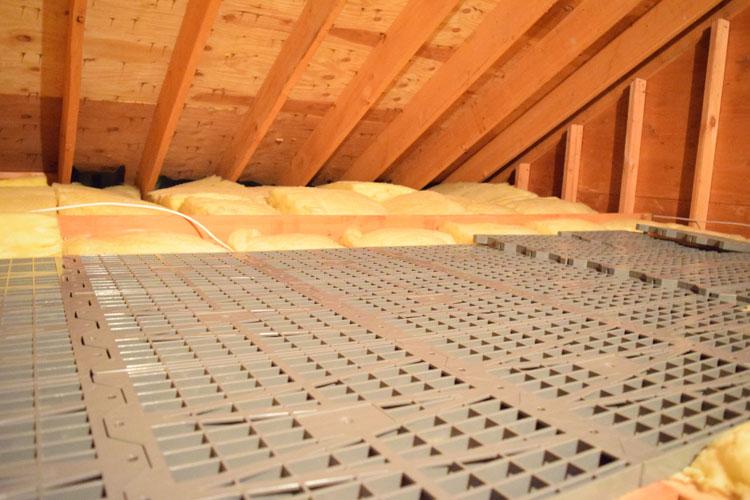 attic dek flooring for attic storage