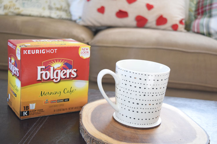 Folgers K Cups make it easy to have a delicious cup of hot coffee in the morning