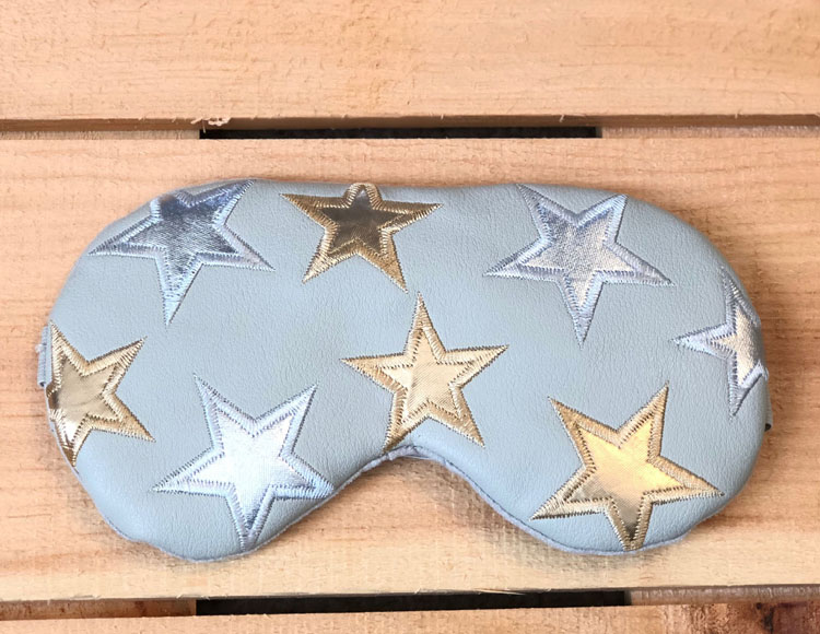 Free People x Understated Leather Starry Eyed Travel Eye Mask ($40) from the Spring FabFitFun box