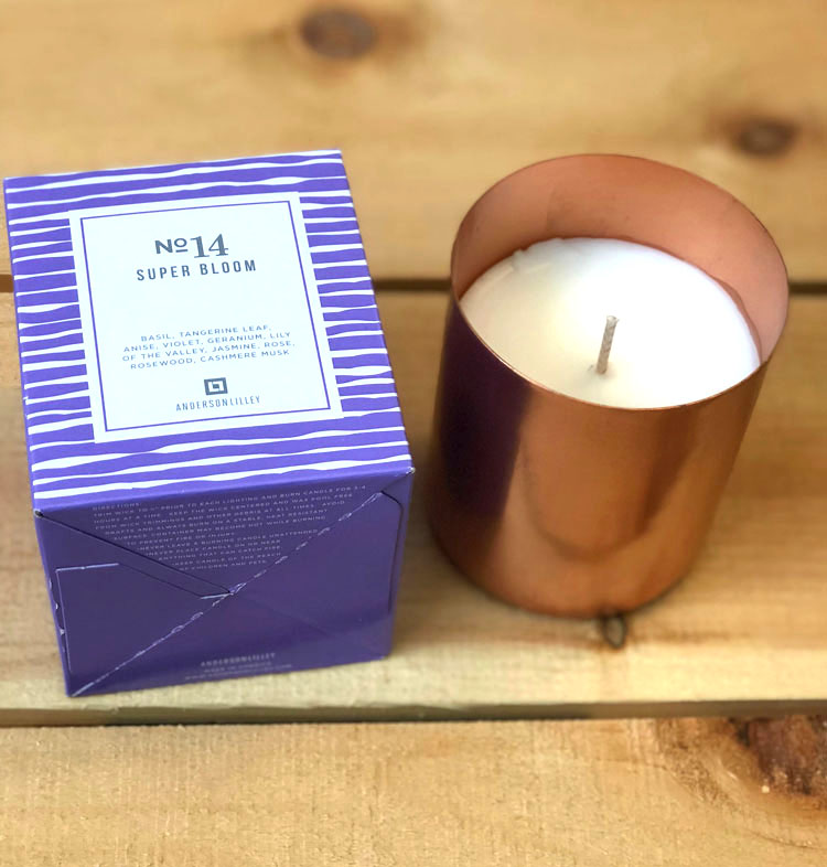 Anderson Lilley candle in Super Bloom ($45)