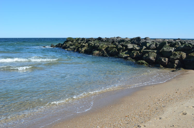 Beach at Ocean Grove, NJ
